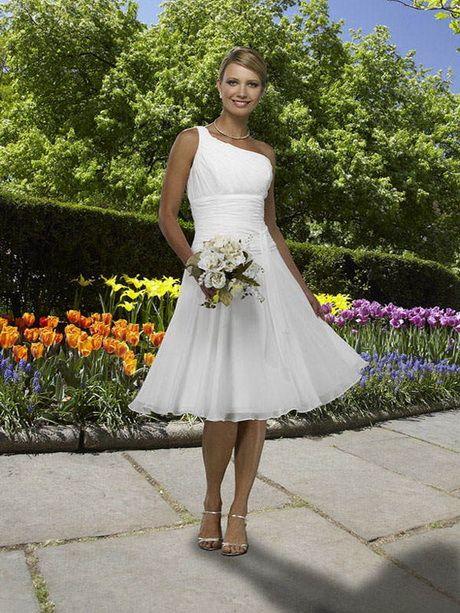 Brautkleid Standesamt Knielang Hochzeitskleid Pinterest