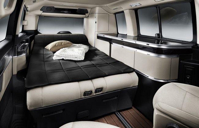 Mercedes-Benz представил кемпер V-Класс Marco Polo ...