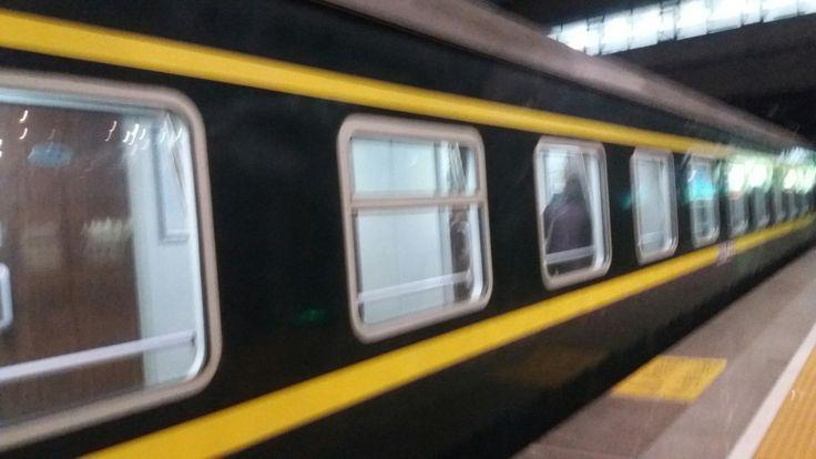 My train to Xian