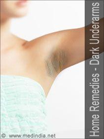 Home Remedies for Dark Underarms / Dark Armpits