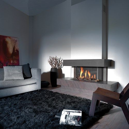 84 best Kamin images on Pinterest Fire places, Living room and - wohnzimmer kamin design