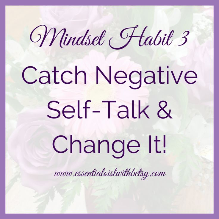 how to change negative mindset