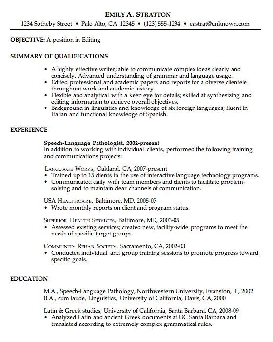 Best 25+ Examples of career objectives ideas on Pinterest Good - healthcare objective for resume