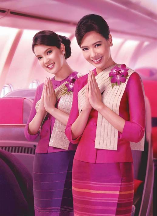 Thai airways uniform bigswitchbladeknife.com likes this.