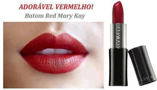 RED da Mary Kay - Muito parecido com o top tomato, super amo, acho todos os batons da mary kay super fácil de aplicar...