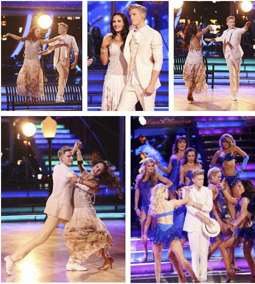 April 7: Cody & Sharna performing during Week 4 of Dancing with the Stars