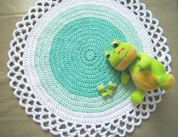 57 Tapetes de Crochê Pra Você se Inspirar... lindíssimos e super diferentes!