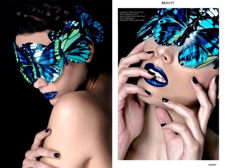 Black Butterfly for ELEGANT Magazine (USA)   Timea Ruman-Roka   LinkedIn