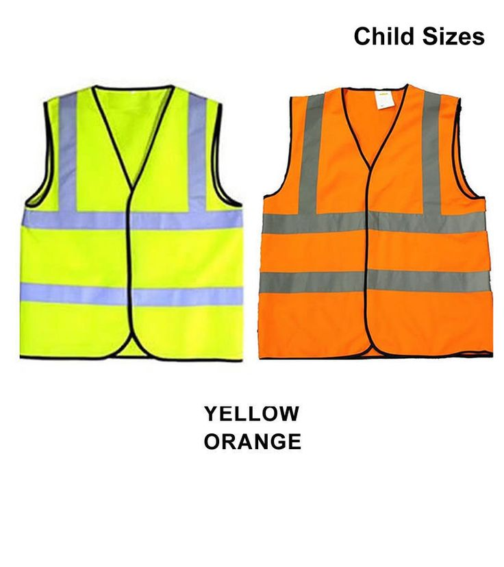 Yellow Orange Child & Baby Reflective Safety Vests Hi Visibility Printable Sport Groups School Size 0-6 or 6-12 mo 1-2, 3-5, 6-8, 9-12 years by TrendyCraftsShop on Etsy https://www.etsy.com/listing/204953504/yellow-orange-child-baby-reflective