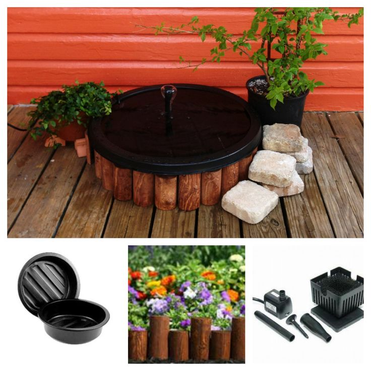 25 best ideas about pond liner on pinterest pond for Koi pond kits lowes