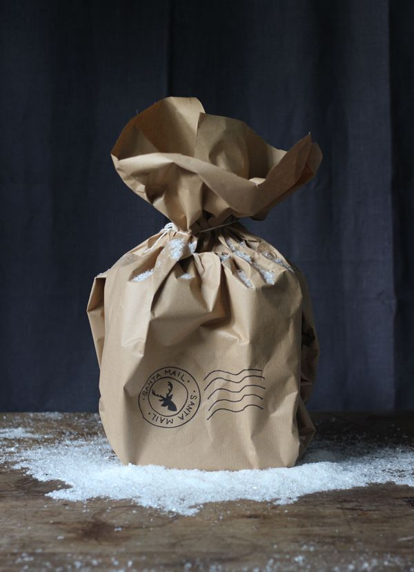 6 easy Christmas gift wrap ideas using brown paper | Growing Spaces