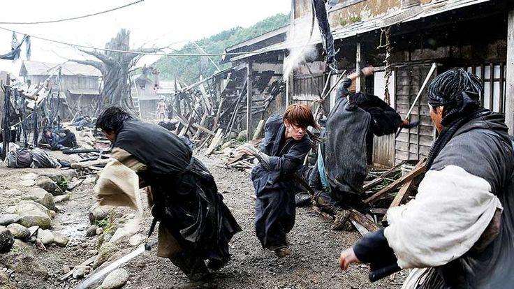 Takeru Satoh as Kenshin Himura in Rurouni Kenshin: Kyoto Inferno.