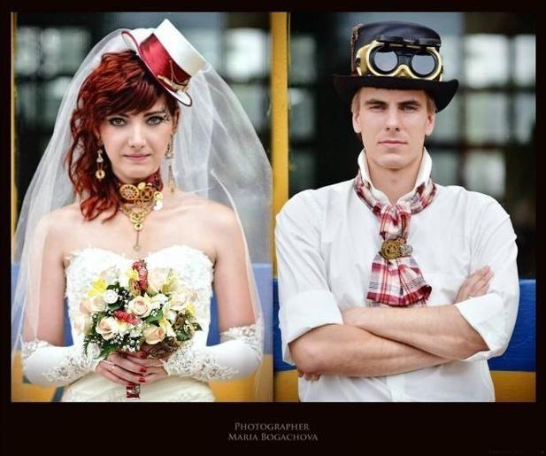 Свадьбы в стиле стимпанк (1 ч) фото пар - Клуб виртуальных коллекционеров