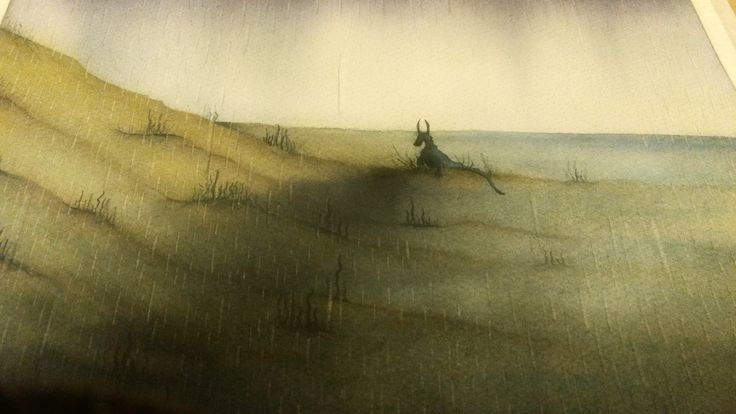 Casi  #topopanda #illustration #ilustración #ilustracion #watercolour #watercolor #acuarela