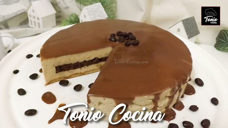 Tarta de galleta con Mousse de café | Recetas sin horno para Navidad | ...