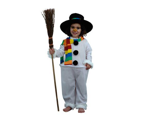 Disfraz muñeco nieve para Navidad , más en www.martinfloressl.es #sevilla