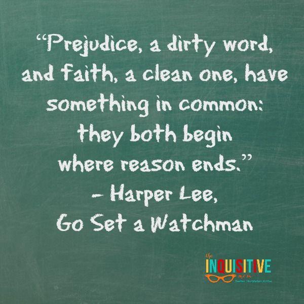 Go Set a Watchman Quote. #harperlee