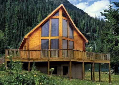 Log Home Package Alpine Ridge Log Home Package Dream