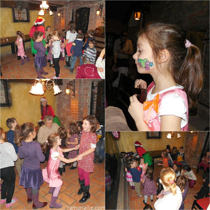 Day 185 - Christmas Party with friends, parents and the teachers from school  :)