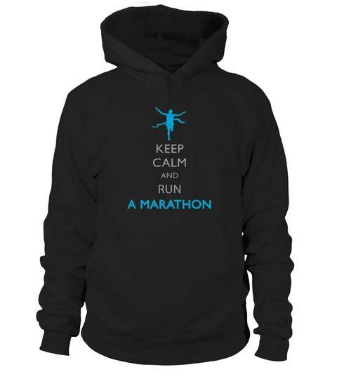 Keep Calm and run a Marathon T shirt