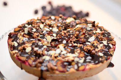 Ciasto śliwkowe pełnoziarniste