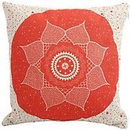"""Createforlife® 18""""x 18"""" Square Red Middle Flower ... – AUD $ 21.44"""