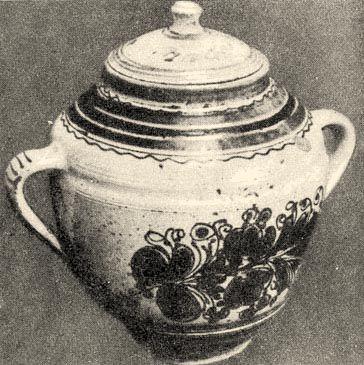 Cserépbödön (19. sz. második fele, Mezőtúr) Bp. Néprajzi Múzeum