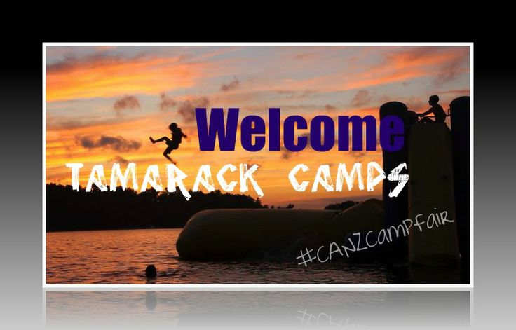 This is Tamarack Camps come meet them at the fair on the 15th of Jan 2014!#CANZCampFair