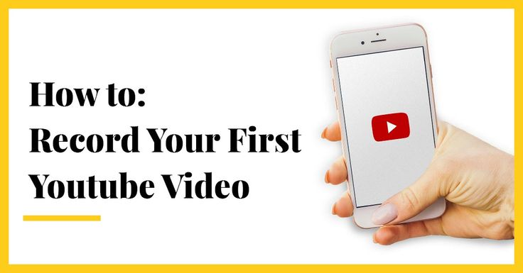 #TodayIsYourDay to record your first YouTube video. Check out our step-by-step checklist to help you get started.
