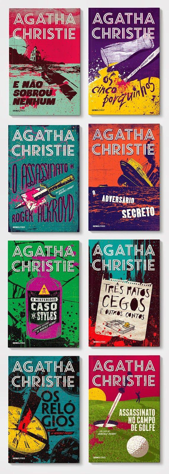 sobrecapas: Agatha Christie (Globo Livros)