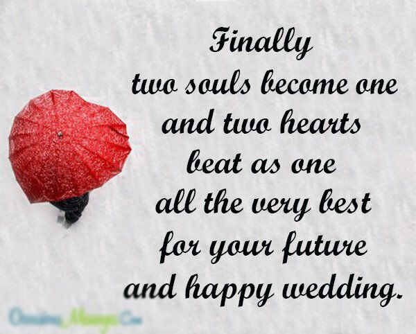 Wishing Happy Married Life To Best Friend Wedding Quotes To A
