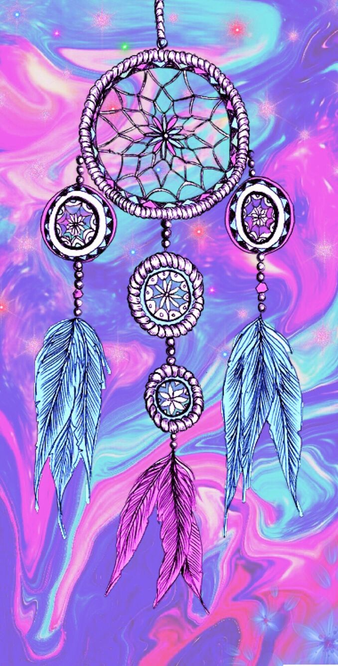 Tumblr iphone wallpaper dreamcatcher - Cute Girly Dream Catcher By Me M S