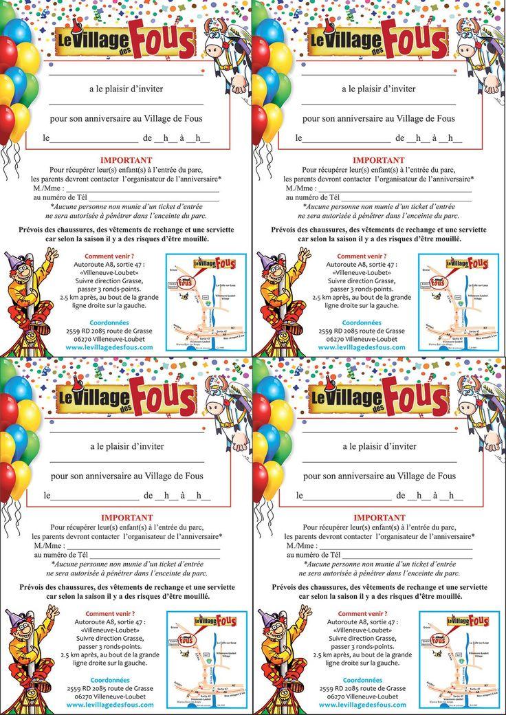 carte d'invitation anniversaire gratuite a imprimer foot | Carte invitation anniversaire ...