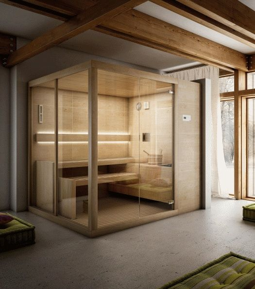 Teuco's #Finnish #Saunas are all made entirely in #Italy, guaranteeing the craftsmanship quality and painstaking care for details