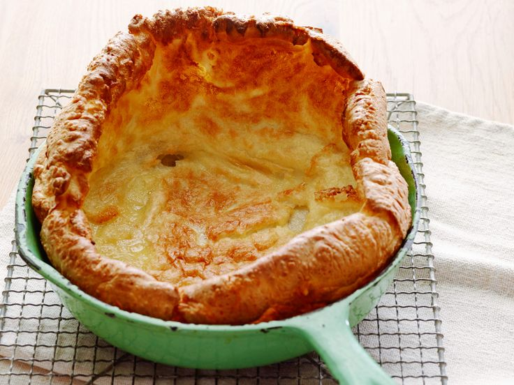 Yorkshire Pudding : There's so much to be said for the perfect pairing of Yorkshire pudding and roast beef, which is why Tyler Florence makes this traditional English treat using one crucial ingredient: the savory pan drippings left behind by a roast prime rib.