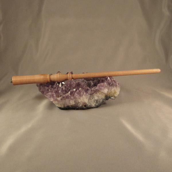 Wand - Adventurine Crystal in Beech