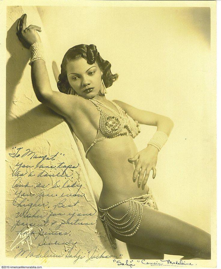 "Cotton Club Dancer Madeline ""Sahji"" Jackson"