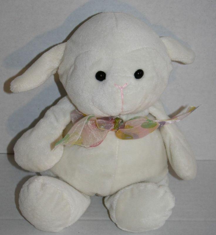 Inter American Products Lamb Ivory Cream Plush Stuffed