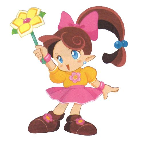 It's Lip and her Stick from Panel De Pon, as well as the storyline! You might remember that item as a long mainstay in Super Smash Bros!Follow TheVideoGameArtArchive on Tumblr for awesome video game artwork old and new! Like what we do? Support us on Patreon!