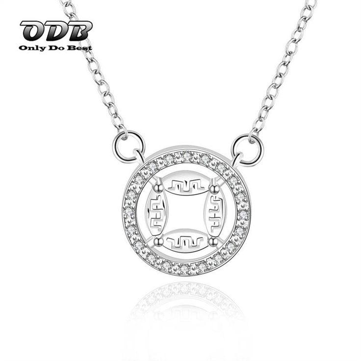 Купить Женщины Ожерелье Круглой Формы Старинные Монеты Стерлингового Серебра 925…
