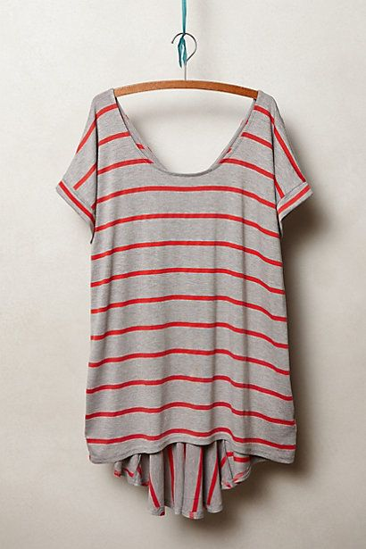 Tail Stripe Tee - anthropologie.eu