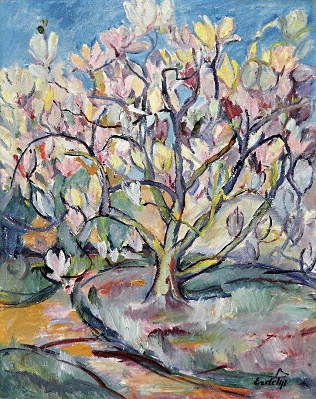 Liliths Place Photo Acrylic And Oil In 2019 Magnolia Trees