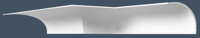 ORAC DECOR Карниз потолочный C-990 Ширина - 21.5 см Высота - 16 см Длина - 200 см