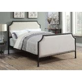 Found it at Wayfair - Brandy Queen Upholstered Panel Bed