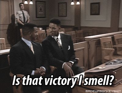 Fresh Prince of Bel-Air Will Smith That's victory I smell!!