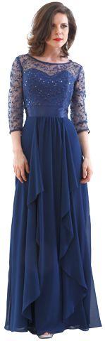 Vestido Massima modelo 1913 | Massima - Vestidos de noche