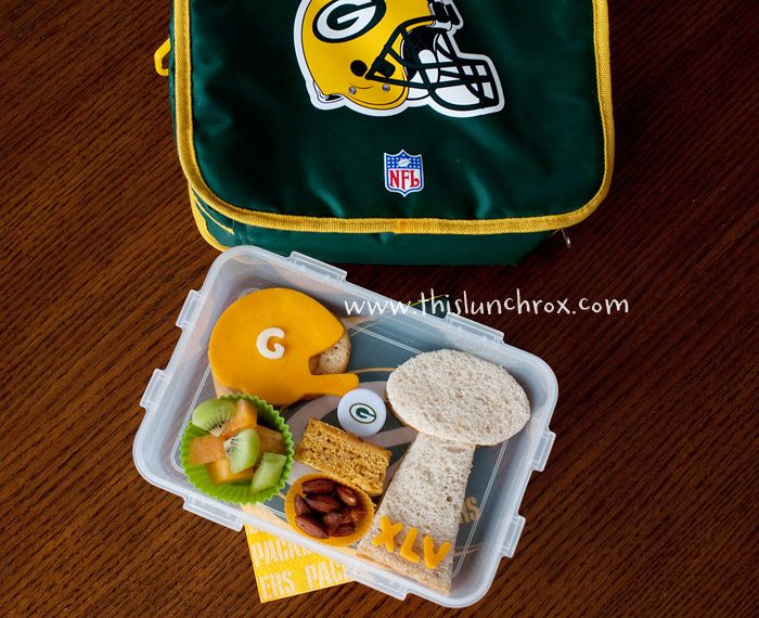 Packers lunch!--can be made with other teams