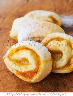 Girelle di frolla alla marmellata biscotti facili vickyart arte in cucina