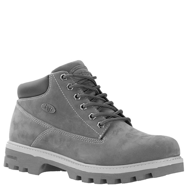 Lugz Men's Empire Medium/X-Wide Water Resistant Lace Up Boots  (Charcoal/Grey)