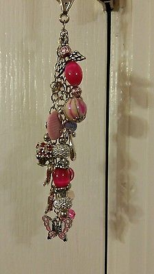 $11.75 Purse charm Breast Cancer Awareness in Clothing, Shoes & Accessories, Women's Accessories, Key Chains, Rings & Finders | eBay